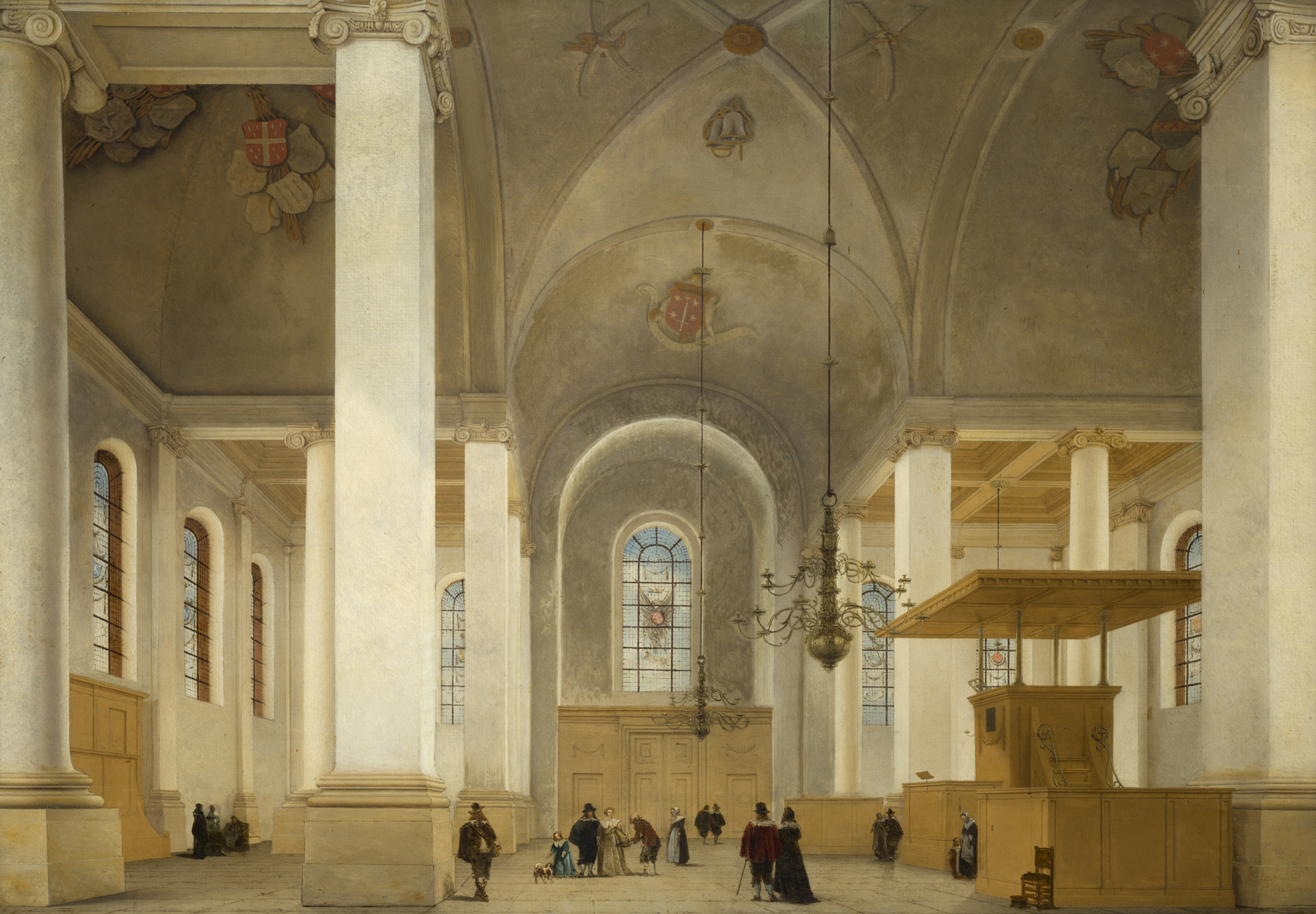 interieur van de nieuwe kerk te haarlem interieur van de nieuwe kerk te haarlem